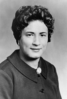 0622286 © Granger - Historical Picture ArchiveCONSTANCE BAKER MOTLEY   (1921-2005). American lawyer, politican, and the first African American woman to be appointed a federal judge. Photograph, c1963.