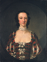 0020758 © Granger - Historical Picture ArchiveFLORA MACDONALD (1722-1790).   Scottish Jacobite heroine. Oil on canvas, 1747, by Richard Wilson.