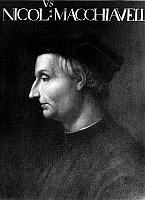 0015662 © Granger - Historical Picture ArchiveNICCOLO MACHIAVELLI   (1469-1527). Italian statesman and political philosopher. Painting by an unknown 16th century artist.