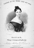 0089792 © Granger - Historical Picture ArchiveMARIA MALIBRAN (1808-1836).   Née Maria Felicitas Garcia. French-Spanish mezzo-soprano. Lithograph sheet music cover, English, c1836.