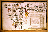 0052216 © Granger - Historical Picture ArchiveMEDICI FAMILY TREE.   Genealogical tree of the Medici family.