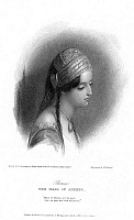0076002 © Granger - Historical Picture ArchiveTERESA MACRI (1797-1875).   Lord Byron's 'Maid of Athens.' Steel engraving, 1832, after a drawing of 1812.