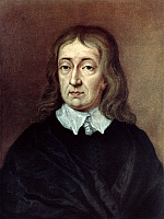 0023825 © Granger - Historical Picture ArchiveJOHN MILTON (1608-1674).   English poet. Portrait at age 62. After a pastel by William Faithorne.