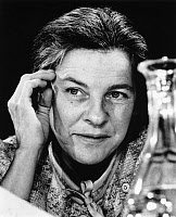 0326545 © Granger - Historical Picture ArchiveMARY MCCARTHY (1912-1989).   American writer. Photograph, c1985. Full credit: Fondation Horst Tappe - ullstein bild / Granger, NYC -- All Rights Reserved