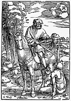 0042867 © Granger - Historical Picture ArchiveSAINT MARTIN (c316-397).   Also known as Saint Martin of Tours. French prelate. Woodcut, c1505, by Hans Baldung Grien after Albrect Dürer.