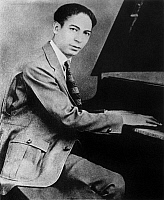 0000096 © Granger - Historical Picture Archive'JELLY ROLL' MORTON   (1885-1941). Ferdinand Joseph La Menthe, commonly known as Jelly Roll Morton. American musician.
