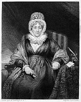 0000675 © Granger - Historical Picture ArchiveHANNAH MORE (1745-1833).   English religious writer. Line and stipple engraving, 1831, by William Finden after the painting by Henry William Pickersgill.