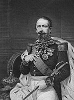 0006237 © Granger - Historical Picture ArchiveNAPOLEON III (1808-1873).   Emperor of the Second French Empire, 1852-1870. Steel engraving, American, 1870.