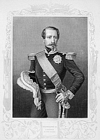 0054536 © Granger - Historical Picture ArchiveNAPOLEON III (1808-1873).   Emperor of the French, 1852-71. Steel engraving, 19th century.