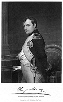 0002904 © Granger - Historical Picture ArchiveNAPOLEON I (1769-1821).   Emperor of the French. Steel engraving after a painting by Paul Delaroche.
