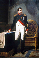 0040575 © Granger - Historical Picture ArchiveNAPOLEON BONAPARTE   (1769-1821). Emperor of France, 1804-1814. Oil on canvas, 1809, by Robert Lefevre.