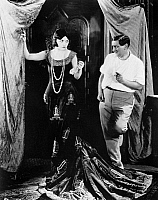 0120877 © Granger - Historical Picture ArchiveNEGRI AND LUBITSCH.   Actress Pola Negri (1897-1987) and director Ernst Lubitsch (1892-1947) rehearsing for a scene of the silent movie 'Forbidden Paradise,' 1924.