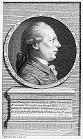 0070679 © Granger - Historical Picture ArchiveFRANCOIS ANDRE PHILIDOR   (1726-1795). French chess player and composer. Line engraving, 1777, by Francesco Bartolozzi (1727-1815).