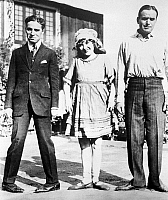0029853 © Granger - Historical Picture ArchiveMARY PICKFORD (1893-1979).   American (Canadian-born) cinema actress. With Charles Chaplin and Douglas Fairbanks.
