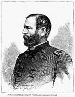 0053433 © Granger - Historical Picture ArchiveFITZ-JOHN PORTER   (1822-1901). American army officer. Wood engraving, 1862.