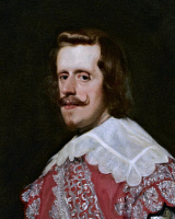 0044255 © Granger - Historical Picture ArchiveKING PHILIP IV OF SPAIN   (1605-1665). King of Spain, 1621-1665. Oil on canvas (detail), 1644, by Diego Velazquez.