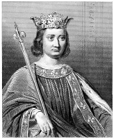0060198 © Granger - Historical Picture ArchivePHILIP IV (1268-1314).   Known as Philip the Fair. King of France, 1285-1314. Steel engraving, French, 19th century.