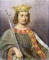 0088743 © Granger - Historical Picture ArchivePHILIP IV (1268-1314).   Known as Philip the Fair. King of France, 1285-1314. Steel engraving, French, 19th century.