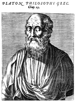0004091 © Granger - Historical Picture ArchivePLATO (c427-c347 B.C.).   Greek philosopher. Line engraving, French, 1584.