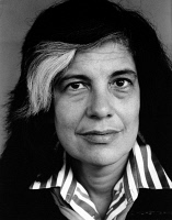 0370249 © Granger - Historical Picture ArchiveSUSAN SONTAG (1933-2004).   American writer. Photographed by Horst Tappe, 1987. Full credit: Fondation Horst Tappe - ullstein bild / Granger, NYC -- All rights reserved.