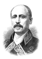 0371197 © Granger - Historical Picture ArchiveFRANCISCO SERRANO   (1810-1885). 1st Duke of la Torre. Spanish marshal and statesman. Wood engraving, American, 1885.