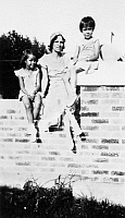0259461 © Granger - Historical Picture ArchiveMARIA TALLCHIEF (1925-2013).   Native American ballerina. Maria (left) with her mother, Ruth Mary Porter Tallchief and sister, Marjorie. Photograph, c1930.