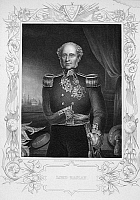0070752 © Granger - Historical Picture Archive1ST BARON OF RAGLAN   (1788-1855). Fitzroy James Henry Somerset. English field marshall. Line and stipple engraving, English, 19th century.