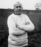 0170364 © Granger - Historical Picture ArchiveKNUTE ROCKNE (1888-1931).   American football coach. Photographed in 1925.
