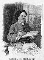 0054175 © Granger - Historical Picture ArchiveSAMUEL RICHARDSON   (1689-1761). English novelist. Stipple engraving, English, 1822.