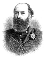 0060067 © Granger - Historical Picture ArchiveSIR NATHAN MEYER ROTHSCHILD   (1840-1915). First Baron Rothschild. English financier. Wood engraving, English, 1885.
