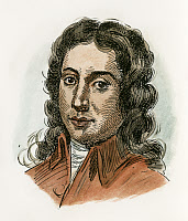 0049198 © Granger - Historical Picture ArchiveALESSANDRO SCARLATTI   (1660-1725). Italian composer. Pen-and-ink drawing, c1900.