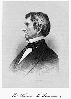0004611 © Granger - Historical Picture ArchiveWILLIAM SEWARD (1801-1872).   American statesman. Steel engraving, 19th century.