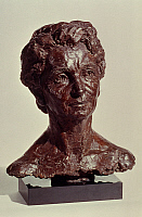 0050491 © Granger - Historical Picture ArchiveMARGARET HIGGINS SANGER   (1879-1966). American founder of the birth control movement. Bronze bust, 1972, by Joy Buba.
