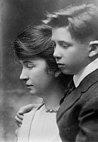 0266795 © Granger - Historical Picture ArchiveMARGARET SANGER   (1879-1966). American birth control activist, sex educator, and nurse. Photographed with her son Stuart, c1920.