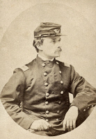 0528900 © Granger - Historical Picture ArchiveROBERT G. SHAW (1837-1863).   American soldier. Photograph, c1863.