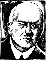 0004279 © Granger - Historical Picture ArchiveJEAN SIBELIUS (1865-1957).   Finnish composer. Drawing, c1932, by Samuel Nisenson.
