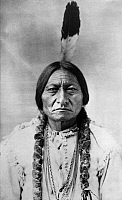 0015365 © Granger - Historical Picture ArchiveSITTING BULL (c1831-1890).   Sioux Native American leader. Photographed by David F. Barry, 1885.