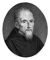 0041598 © Granger - Historical Picture ArchivePAOLO SARPI (1552-1623).   Originally Pietro. Italian prelate, historian, scientist, and theologian. Steel engraving, Italian, 1820.
