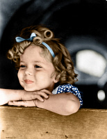 0528478 © Granger - Historical Picture ArchiveSHIRLEY TEMPLE (1928-2014).   American child film actress. Photograph, c1934.