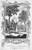 0071360 © Granger - Historical Picture ArchiveWILLIAM TELL.   Legendary Swiss hero. Copper engraving, English, 18th century.