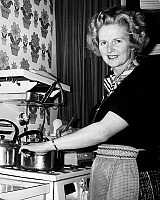 0110136 © Granger - Historical Picture ArchiveMARGARET THATCHER   (1925-2013). English politician. Photographed at her home in Chelsea, England, 1975, shortly before being named leader of the Conservative Party.
