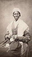 0527866 © Granger - Historical Picture ArchiveSOJOURNER TRUTH   (c1797-1883). Born Isabella Baumfree. American abolitiionist and women's rights activist. Carte de visite photograph by J. H. Preiter, 1864.