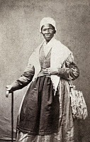 0527868 © Granger - Historical Picture ArchiveSOJOURNER TRUTH   (c1797-1883). Born Isabella Baumfree. American abolitiionist and women's rights activist. Carte de visite photograph, 1864.