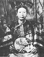 0015422 © Granger - Historical Picture ArchiveTZ'U HSI (1835-1908).   Dowager Empress of China.