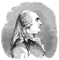 0071508 © Granger - Historical Picture ArchiveANNE ROBERT TURGOT   (1727-1781). Baron de l'Aulne. French statesman and economist. Wood engraving, French, 19th century, from a drawing by Edmond Le Chevallier-Chevignard after the illustration by Charles Nicolas Cochin Fils.