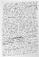 0125568 © Granger - Historical Picture ArchiveTALLEYRAND: MEMOIRS.   Manuscript page from the memoirs of French statesman Charles Maurice de Talleyrand (1754-1838), relating experiences from his time residing in the United States, 1794-96.