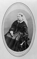 0622799 © Granger - Historical Picture ArchiveVICTORIA OF ENGLAND   (1819-1901). Queen of Great Britain, 1837-1901. Photograph, 3 April 1866.