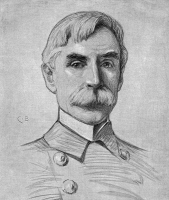 0370199 © Granger - Historical Picture ArchiveJOHN CRITTENDEN WATSON   (1842-1923). U.S. Navy admiral. Drawing by Carroll Beckwith, 1898.