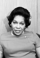 0528100 © Granger - Historical Picture ArchiveBARBARA WATSON (1918-1983).   American lawyer, diplomat and first black woman Assistant Secretary of State. Photograph by Warren K. Leffler, December 1971.