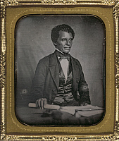0265922 © Granger - Historical Picture ArchiveBEVERLY PAGES YATES   (1811-1883). Liberian (American-born) colonist, Vice President of the Republic of Liberia, 1856-1860. Daguerreotype by Augustus Washington, c1858.